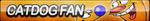 CatDog Fan Button by ButtonsMaker