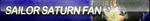 Sailor Saturn Fan Button by ButtonsMaker
