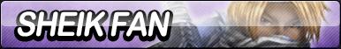Sheik Fan Button by ButtonsMaker