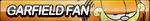 Garfield Fan Button by ButtonsMaker