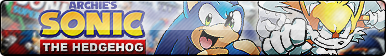 Sonic Archie Comics Button (UPDATED)