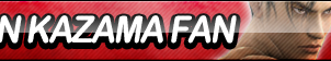 Jin Kazama Fan Button by ButtonsMaker