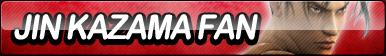 Jin Kazama Fan Button