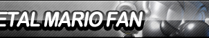 Metal Mario Fan Button by ButtonsMaker