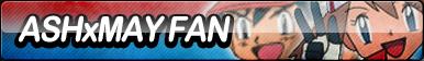 Ash X May Fan Button