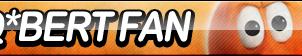 Q*bert Fan Button by ButtonsMaker