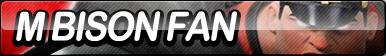 M. Bison Fan Button