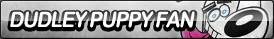 Dudley Puppy Fan Button by ButtonsMaker