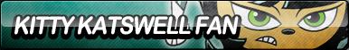 Kitty Katswell Fan Button by ButtonsMaker
