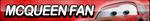 McQueen Fan Button by ButtonsMaker