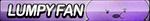 Lumpy Space Princess Fan Button by ButtonsMaker