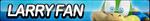 Larry Koopa Fan Button by ButtonsMaker