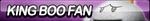 King Boo Fan Button by ButtonsMaker