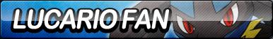 Lucario Fan Button by ButtonsMaker