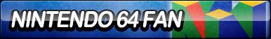 Nintendo 64 Fan Button
