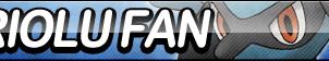 Riolu Fan Button by ButtonsMaker
