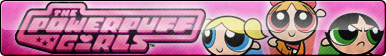 Powerpuff Girls Fan Button