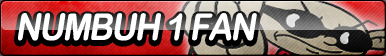 Numbuh One Fan Button