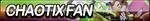 Chaotix Fan Button by ButtonsMaker