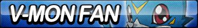 V-mon Fan Button by ButtonsMaker