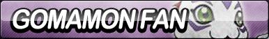 Gomamon Fan Button