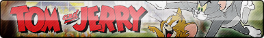 Tom and Jerry Fan Button (UPDATED)