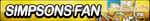 The Simpsons Fan Button by ButtonsMaker