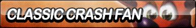 Classic Crash Bandicoot Fan Button by ButtonsMaker