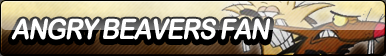 Angry Beavers Fan Button