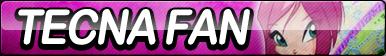 Tecna (Winx Club) Fan Button