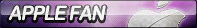 Apple Fan Button by ButtonsMaker