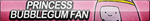 Princess Bubblegum Fan Button by ButtonsMaker