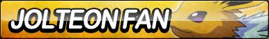 Jolteon Fan Button by ButtonsMaker