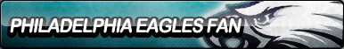 Philadelphia Eagles Fan Button by ButtonsMaker