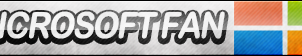 Microsoft Fan Button by ButtonsMaker