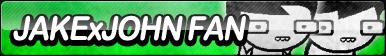 Jake X John Fan Button by ButtonsMaker