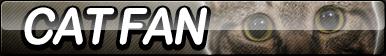 Cat Fan Button by ButtonsMaker