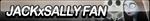 Jack X Sally Fan Button by ButtonsMaker