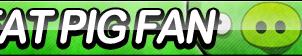 Fat Pig Fan Button by ButtonsMaker