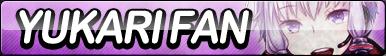 Yukari Yuzuki Fan Button by ButtonsMaker