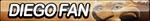 Diego Fan Button by ButtonsMaker