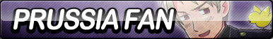 Prussia Fan Button