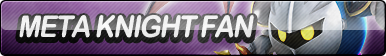 Meta Knight Fan Button (UPDATED) by ButtonsMaker