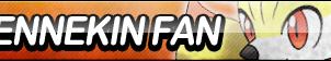 Fennekin Fan Button by ButtonsMaker