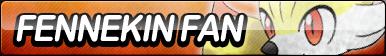 Fennekin Fan Button