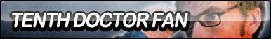 Tenth Doctor Fan Button