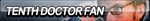 Tenth Doctor Fan Button by ButtonsMaker