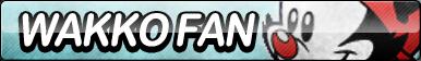 Wakko Fan Button