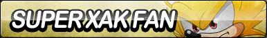 Super Xak Fan Button by ButtonsMaker