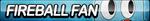 Fireball Watterson Fan Button by ButtonsMaker